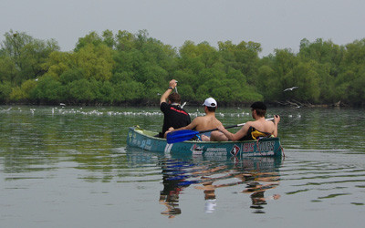 Kanutour im Donaudelta