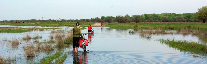 Danube Delta by bike and boat – 8 days cycling tour