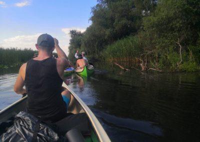 canoe tour delta